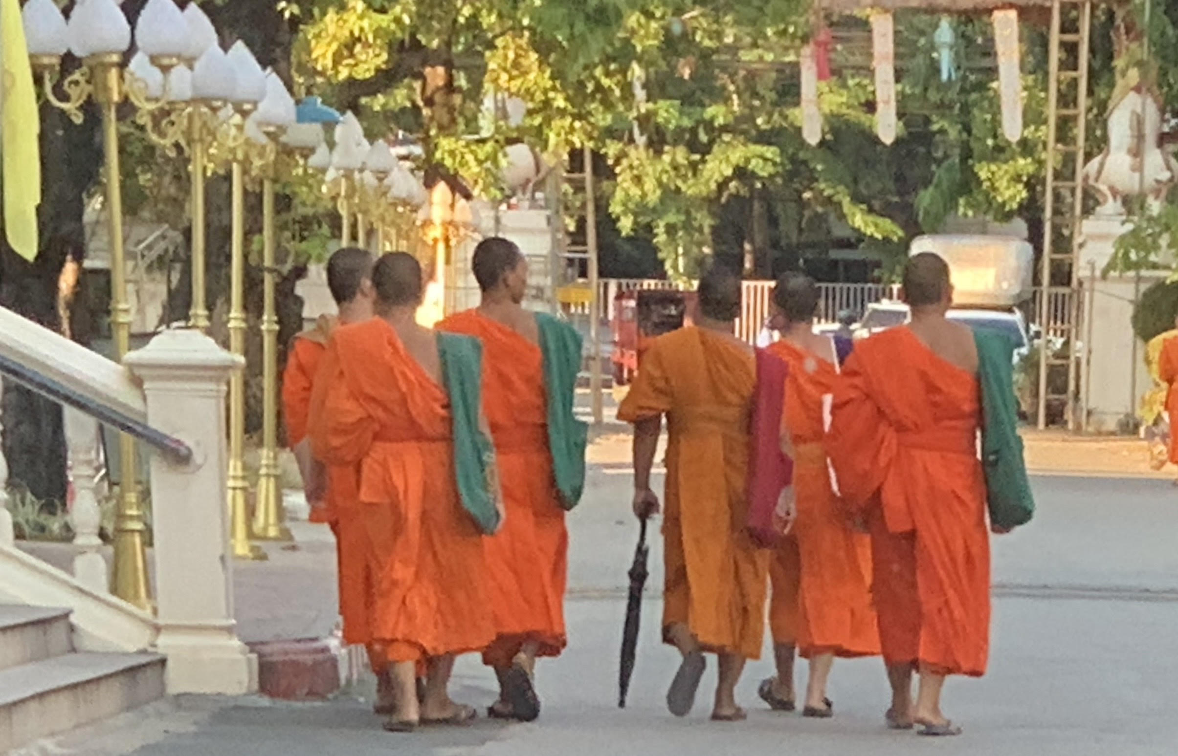 group monks