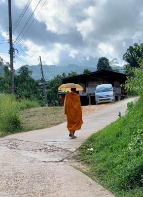 monk unbrella